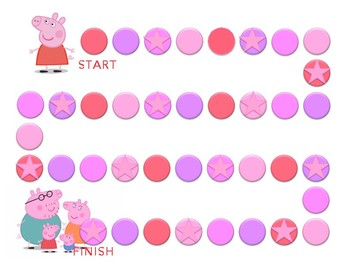 photograph regarding Sticker Chart Printable Pdf known as Peppa Pig Patterns Sticker Chart PDF Printable