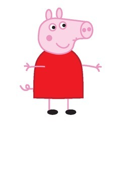 Peppa Pig Clipart Commercial and Personal Use