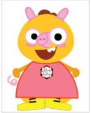 Peppa Pig Inspired VIPKID Dino for Reward or Decoration   