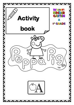 Peppa Pig Sight Word Activity Bundle