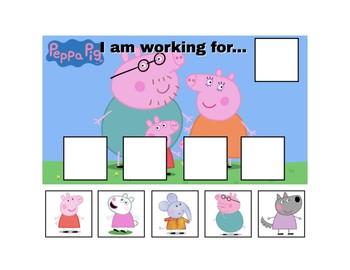 Peppa Pig Token Board