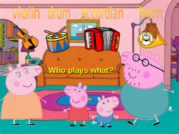 Peppa pig-Musical Instruments Video Class