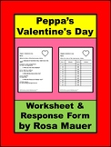 Peppa's Valentine's Day (Peppa Pig) Book Reading Comprehension Questions