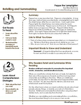 Peppe the Lamplighter Lesson Plans & Activities Package, Second Grade (CCSS)
