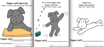 Pepper and Emotions in Spanish