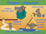 Pepper's Alphabet (and vowels and vowel sounds)