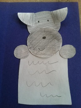 Pepper's Cut-Out Card and Worksheets in Spanish
