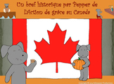 Pepper's Short History of Canadian Thanksgiving for French Speakers