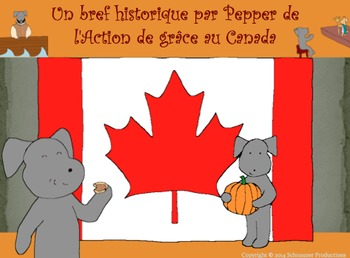 Pepper's Short History of Canadian Thanksgiving for French