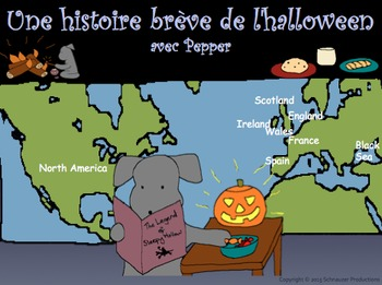 Pepper's Short History of Halloween with French