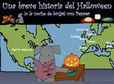 Pepper's Short History of Halloween with Spanish