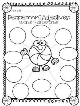 Peppermint Adjectives!