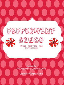 Peppermint Bingo: Addition and Subtraction