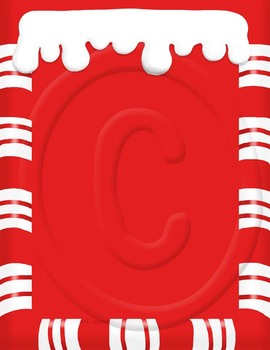 Candy Cane Digital Papers