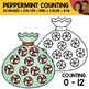 Peppermint Candy Counting Scene Clipart