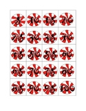 Peppermint Candy Holiday Count by 5's