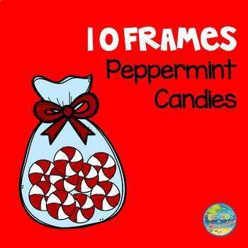 Peppermint Candy Ten Frames