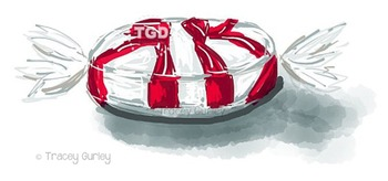 Peppermint Candy clip art, Printable Tracey Gurley Designs