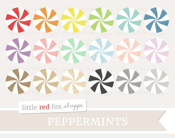 Peppermint Clipart; Candy