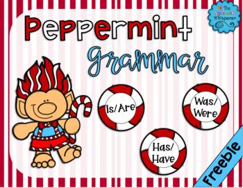 Peppermint Grammar (FREEBIE!)