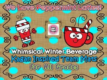 Peppermint Latte Kagan Inspired Team Mats