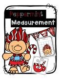 Peppermint Nonstandard Measurement Around the Room Christmas/Winter