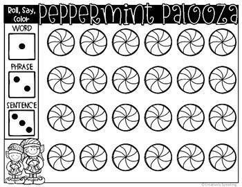 Peppermint Palooza Target Sheets
