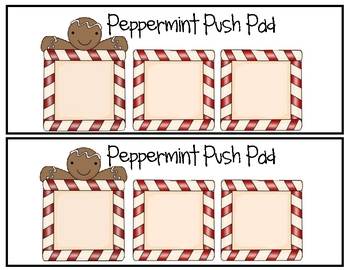 Peppermint Push Sound Segmenting Activity