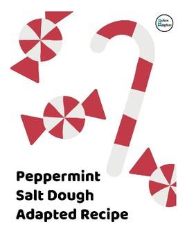 Peppermint Salt Dough Adapted Recipe