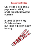 Peppermint Stick Song Printable