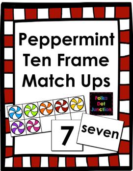 Peppermint Ten Frame Match Ups