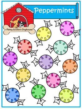 Peppermints *Penny & Ellie's Doghouse Clipart*