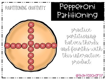 Fractions- Pepperoni Partitioning