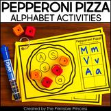 Pepperoni Pizza: Alphabet Activity