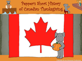 Pepper's Short History of Canadian Thanksgiving