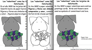 Valentine's Day History with Spanish by Pepper