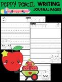 Peppy Pencil Writing Journal - Apples, Kindergarten First Grade, paper, rubric