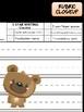Peppy Pencil Writing Journal - Bears Bees, Kindergarten, First Grade, papers