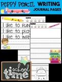 Peppy Pencil Writing Journal - School, Kindergarten First Grade, paper, rubric