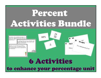 Percent Activities Bundle