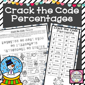 Percent Activity Crack the Code Winter