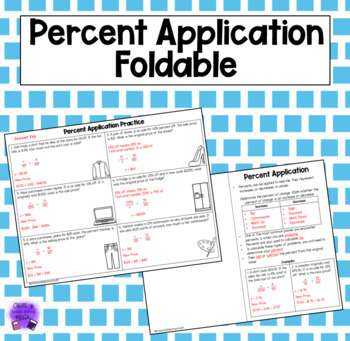 Percent Application Foldable