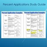 Percent Applications Examples