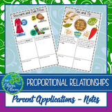 Percent Applications - Guided Notes - 7.RP.3