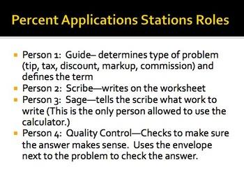 Percent Applications Stations