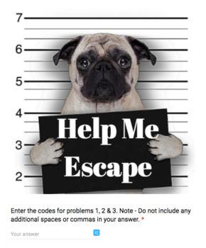 Percent – Bad Dog Breakout Bundle for Google Classroom!