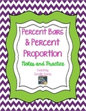 Percent Bars and Percent Proportion - Notes and Practice