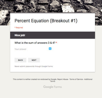 Percent Breakout Bundle – Perfect for Google Classroom!