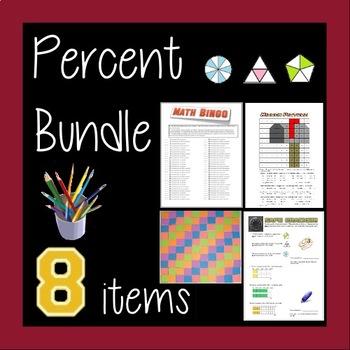 Percent Bundle - 8 Activities!