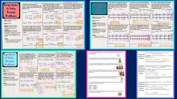 Percent Bundle ~ Middle Grades Math